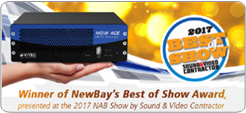 Best of Show Award at NAB 2017