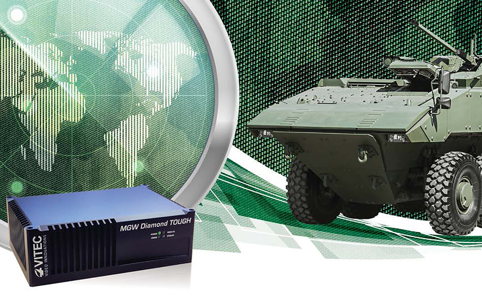 VITEC Diamond TOUGH Encoders to Outfit the Canadian Armed Forces' Armored Vehicles
