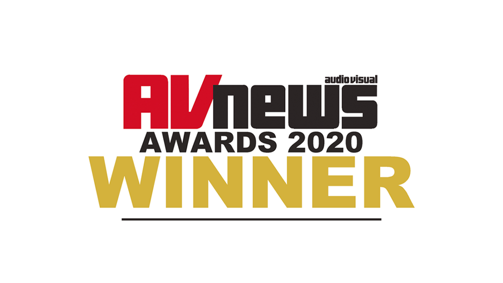 Digital Signage Innovation of the Year AV News Awards 2020