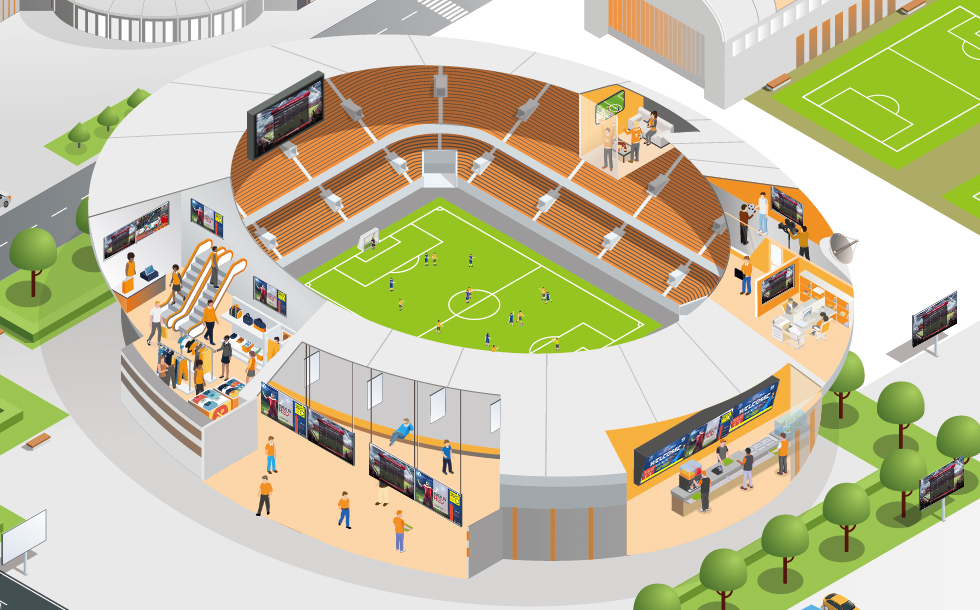 Opening Stadiums Safely: The Role of IP Technology