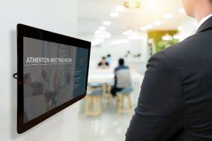 digital signage meeting room