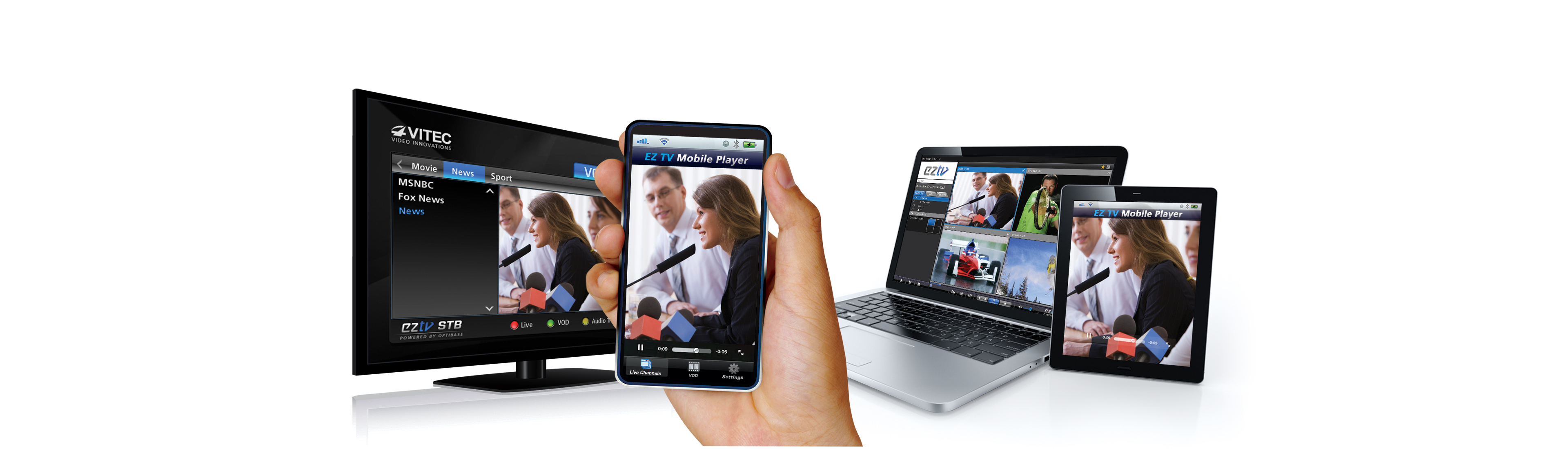 VITEC - Video Streaming to Mobile Devices - Extend the Reach of IPTV Content to Mobile Devices