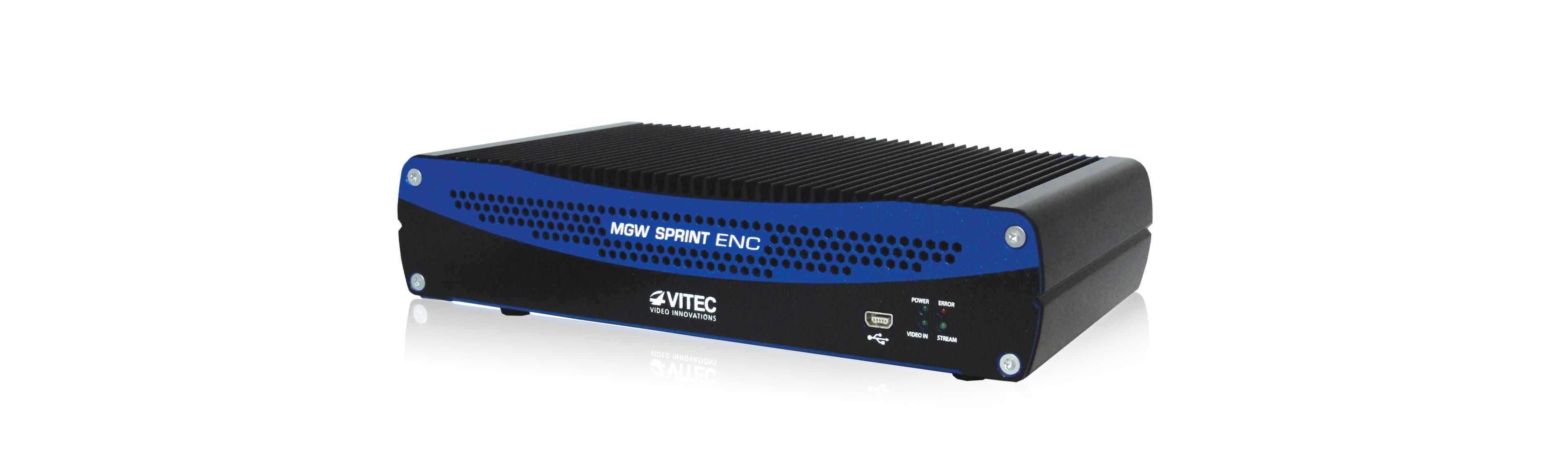 VITEC - MGW Sprint - Sub One-Frame H 264 HD IPTV Encoder