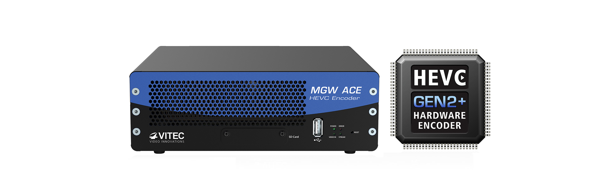 MGW Ace Encoder Compact HEVC (H.265) Hardware Encoder