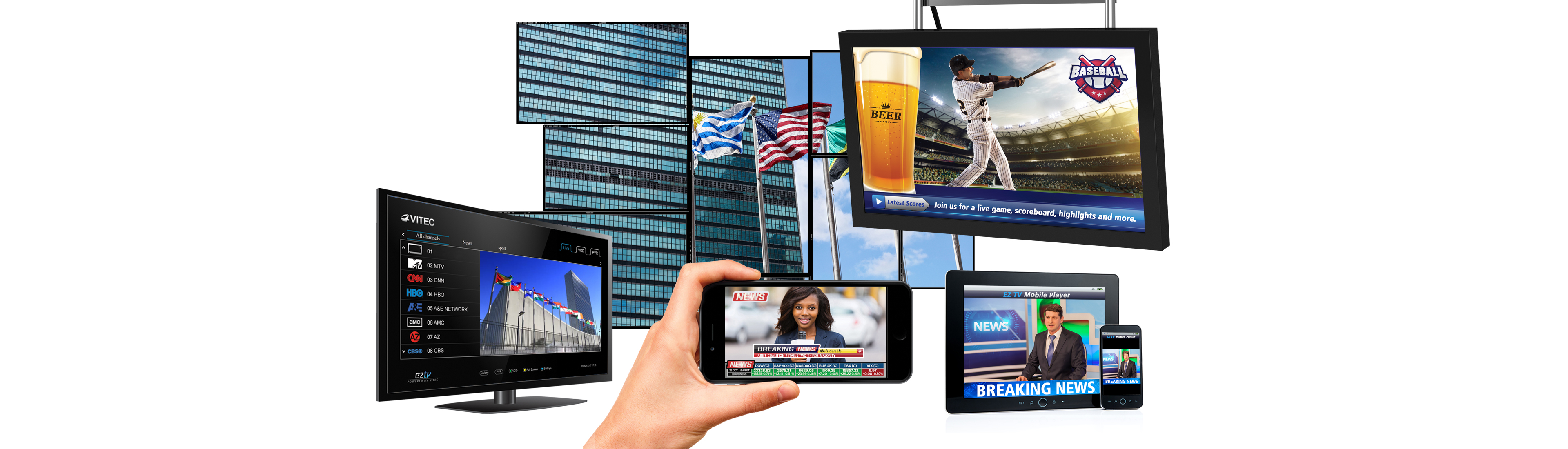 VITEC - Digital Signage - End-to-end, content-rich, dynamic Digital Signage